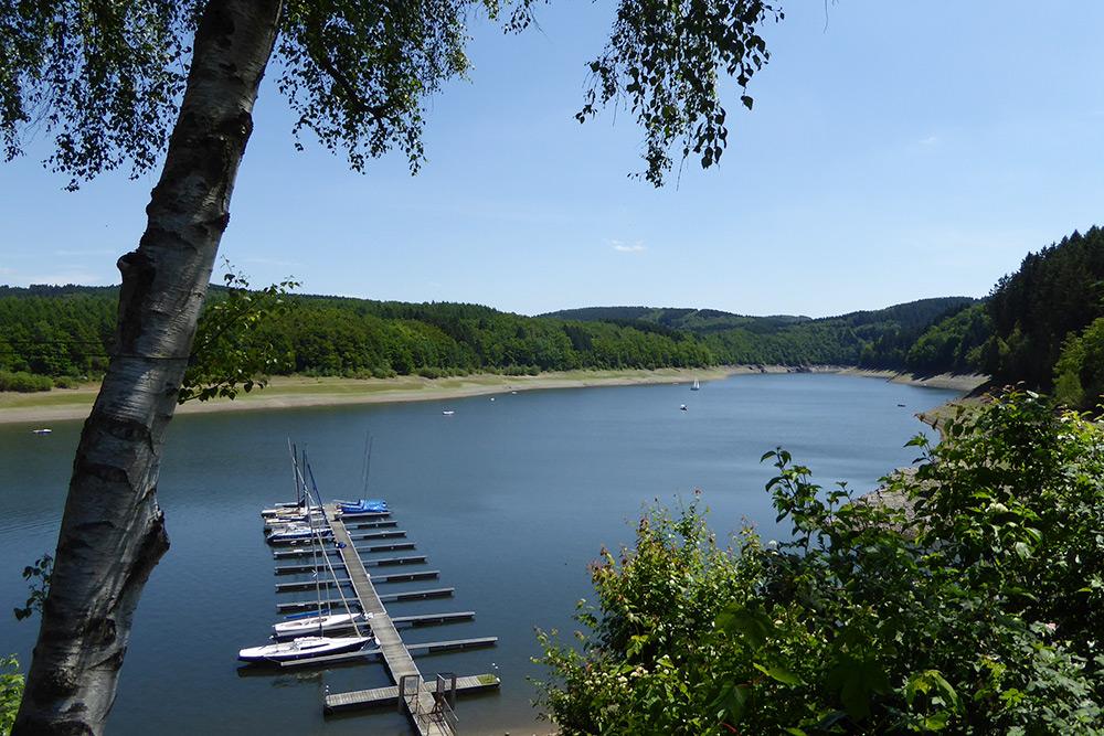 CampingBiggeseeSeegelbootplatzLiegeplatz